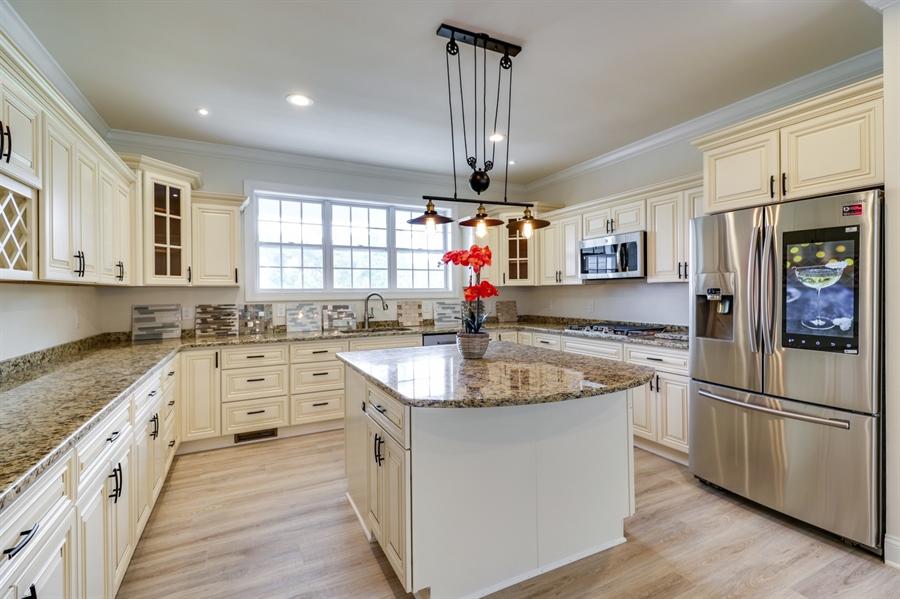Real Estate Photography - 28459 Cedar Ridge Dr, Millsboro, DE, 19966 - Gorgeous Cabinets & Granite Countertops