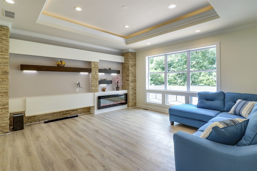 Real Estate Photography - 28459 Cedar Ridge Dr, Millsboro, DE, 19966 - Great Room is Perfect for Entertainig