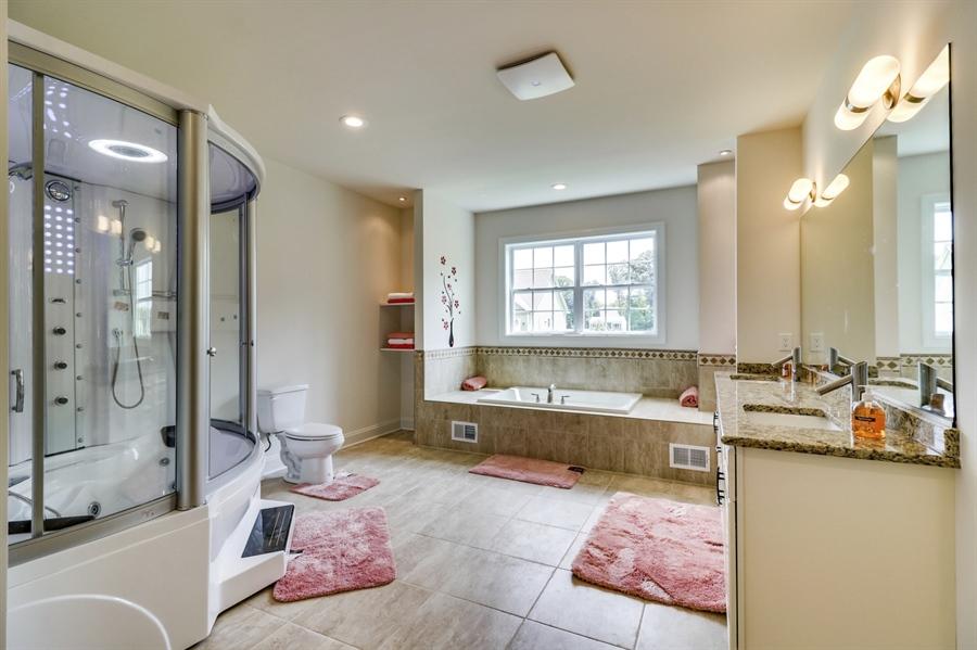 Real Estate Photography - 28459 Cedar Ridge Dr, Millsboro, DE, 19966 - Large Master Bathroom