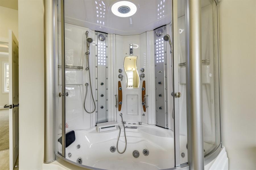 Real Estate Photography - 28459 Cedar Ridge Dr, Millsboro, DE, 19966 - Luxury Steam Shower