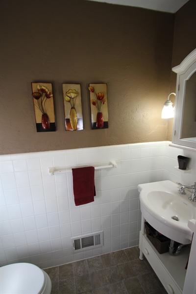 Real Estate Photography - 200 Park Ave, New Castle, DE, 19720 - Master Bedroom Half Bath