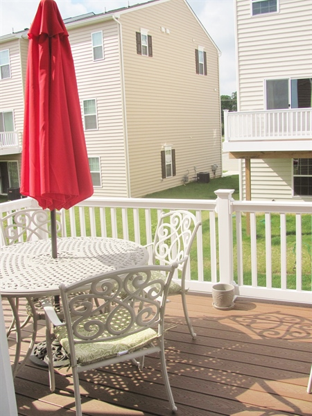 Real Estate Photography - 661 Barrie Road, Middletown, DE, 19709 - Another Deck View