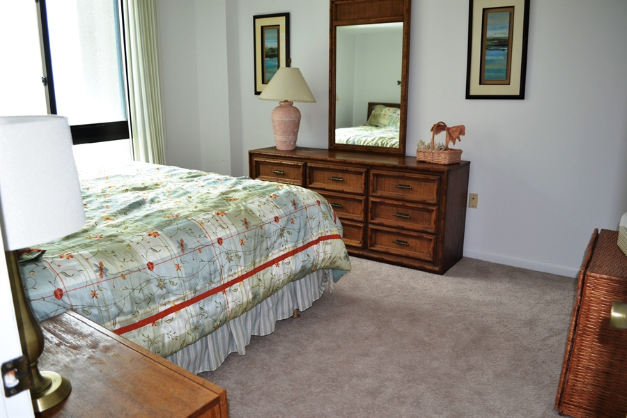 Real Estate Photography - 511 Island House Rd, Bethany Beach, DE, 19930 - Master Bedroom has Great View
