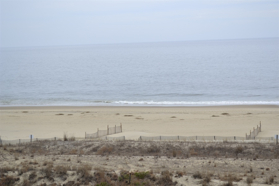 Real Estate Photography - 511 Island House Rd, Bethany Beach, DE, 19930 - View of the Beach from Balcony