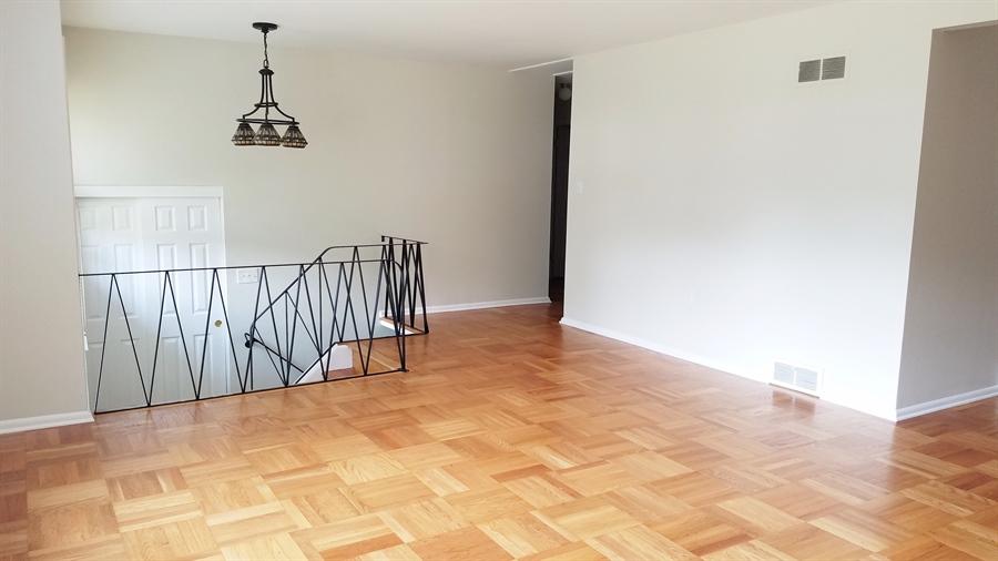 Real Estate Photography - 1418 Fresno Rd, Wilmington, DE, 19803 - Fabulous Hardwood Floors, Living Room View