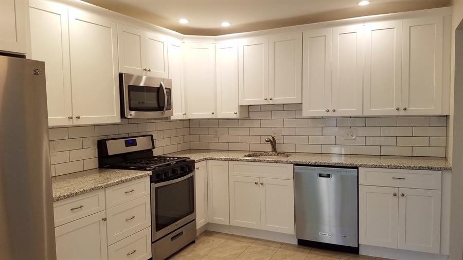 Real Estate Photography - 1418 Fresno Rd, Wilmington, DE, 19803 - Wonderful New Kitchen w/ Granite Counter Tops