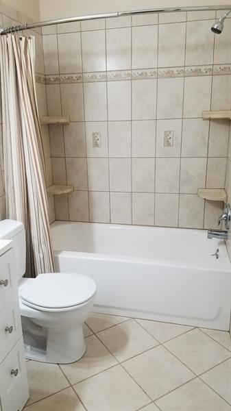 Real Estate Photography - 1418 Fresno Rd, Wilmington, DE, 19803 - Main Level Re-Done Bathroom