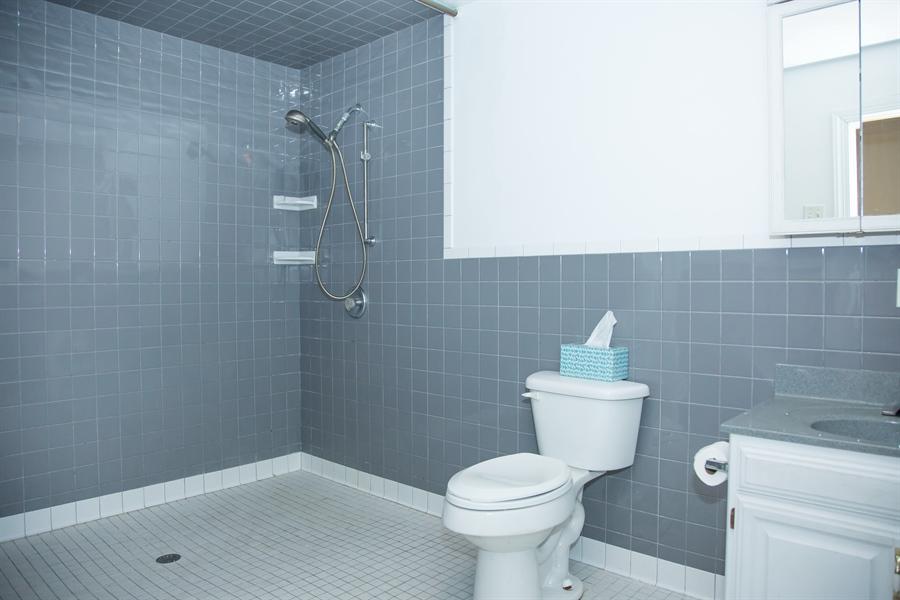 Real Estate Photography - 215 N Cass St, Middletown, DE, 19709 - Huge re-modeled bath w/heated floor
