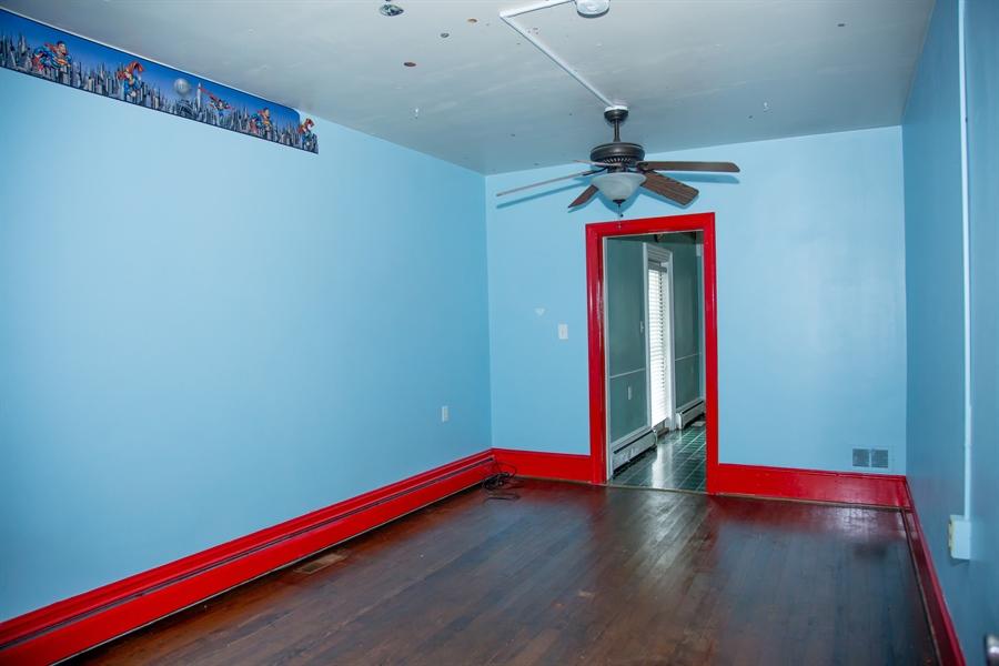 Real Estate Photography - 215 N Cass St, Middletown, DE, 19709 - 11' X 17' first floor bedroom