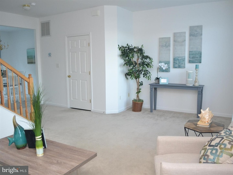 Real Estate Photography - 22 John Hall Dr, Ocean View, DE, 19970 - Living Room 2nd View