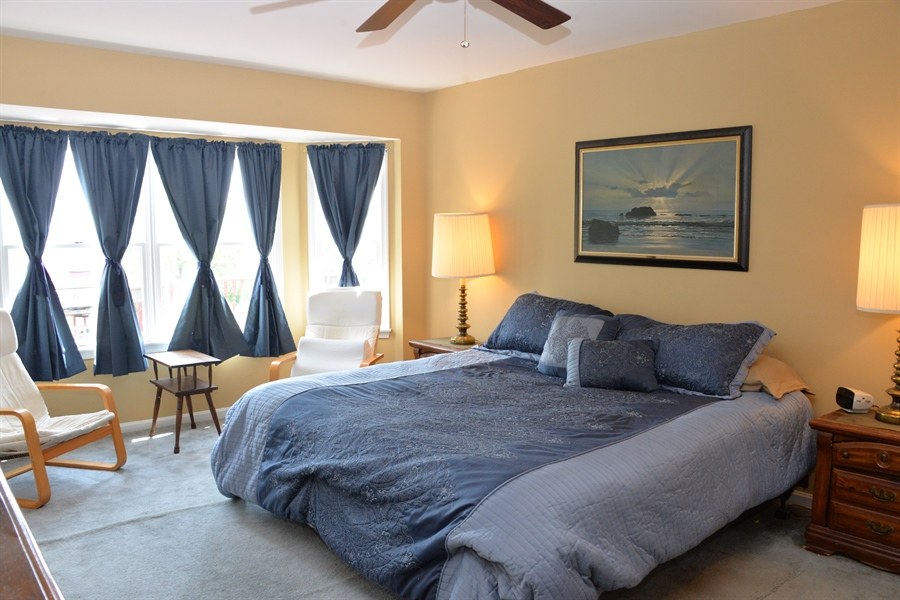 Real Estate Photography - 142 Willow Oak Ct, Elkton, MD, 21921 - Master Bedroom With Water View