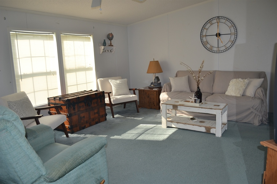 Real Estate Photography - 31391 Erie Ave, Ocean View, DE, 19970 - Living Room 2nd View