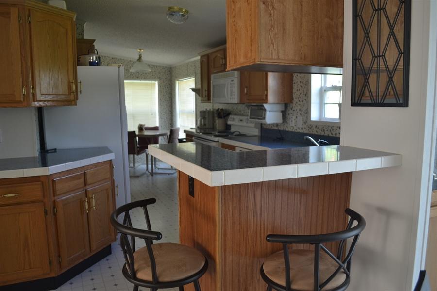 Real Estate Photography - 31391 Erie Ave, Ocean View, DE, 19970 - Counter Top Seating