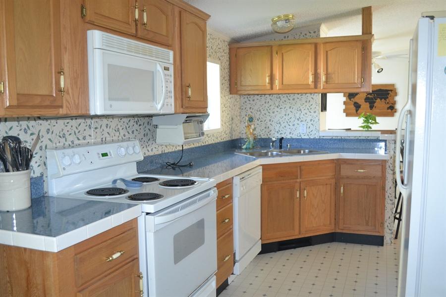 Real Estate Photography - 31391 Erie Ave, Ocean View, DE, 19970 - Bright Kitchen