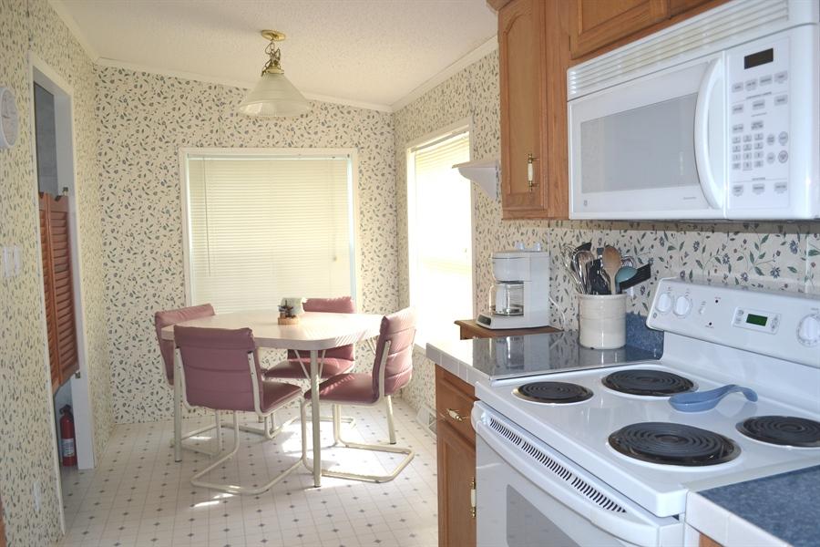 Real Estate Photography - 31391 Erie Ave, Ocean View, DE, 19970 - Kitchen Breakfast Nook