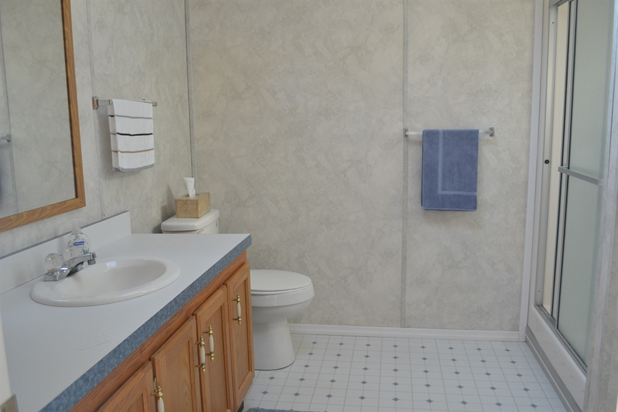 Real Estate Photography - 31391 Erie Ave, Ocean View, DE, 19970 - Owners' Private Bath
