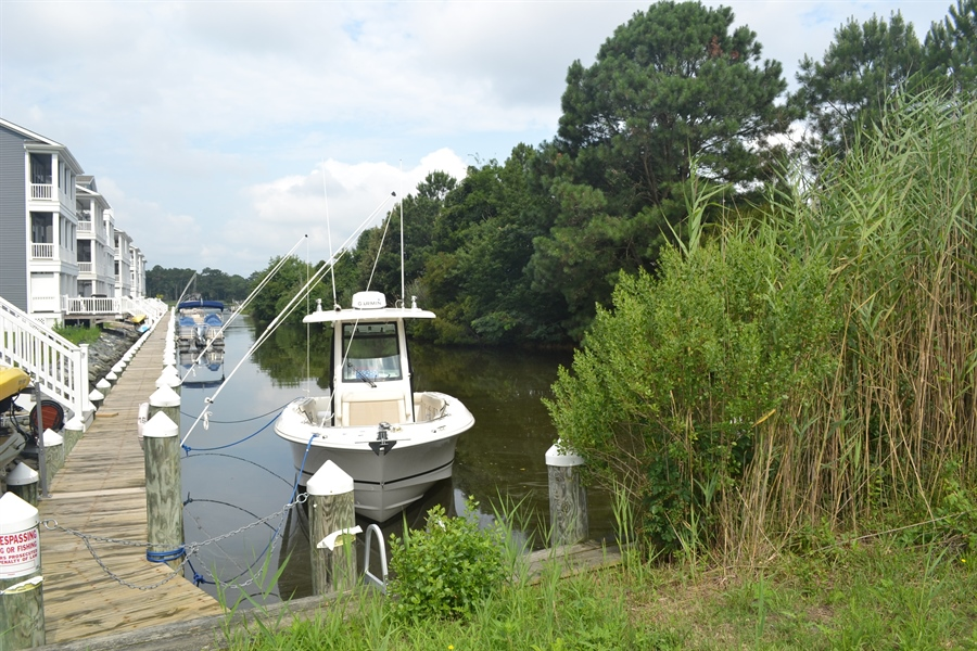 Real Estate Photography - 31391 Erie Ave, Ocean View, DE, 19970 - View of Canal from Front Yard