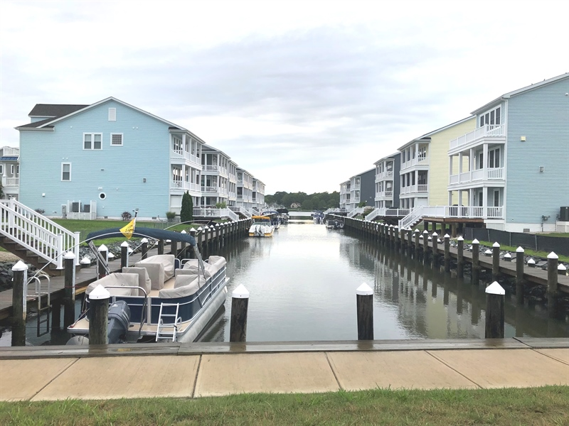 Real Estate Photography - 31391 Erie Ave, Ocean View, DE, 19970 - View of Community Canal