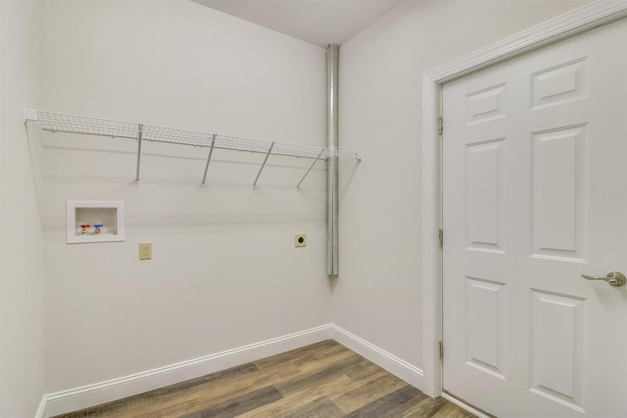 Real Estate Photography - 146 Laks Ct, Smyrna, DE, 19977 - Laundry room