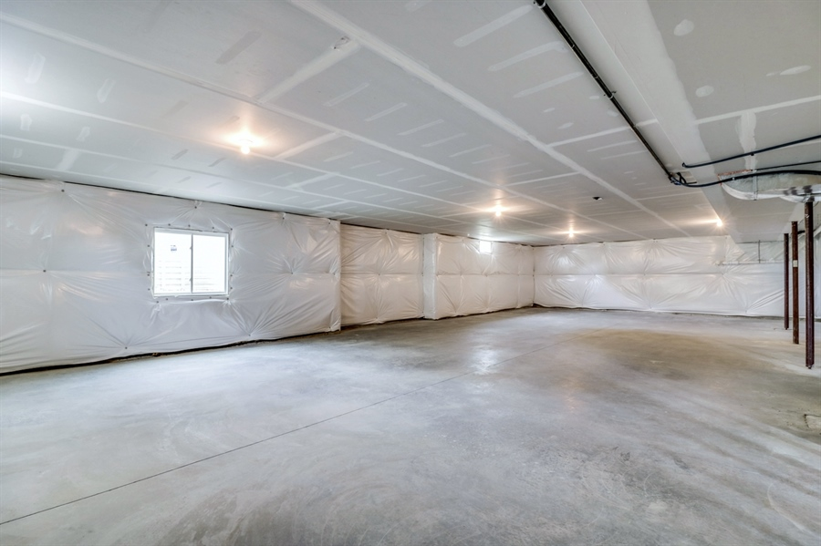 Real Estate Photography - 146 Laks Ct, Smyrna, DE, 19977 - Full insulated basement w/9' ceiling