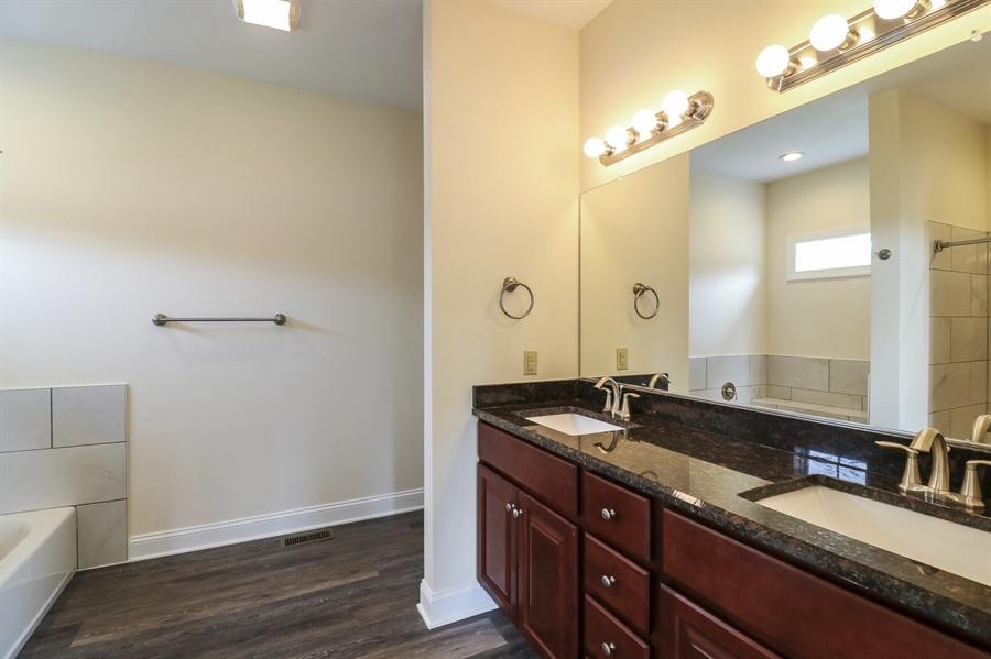 Real Estate Photography - 164 Laks Ct, Smyrna, DE, 19977 - Main bathroom w/double vanity