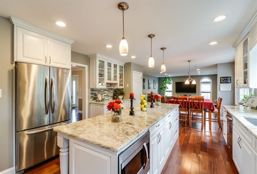 Real Estate Photography - 142 Bromley Dr, Wilmington, DE, 19808 - Totally Renovated Kitchen