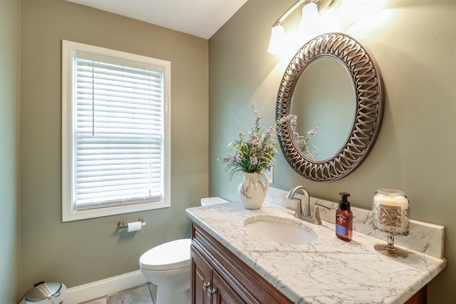 Real Estate Photography - 142 Bromley Dr, Wilmington, DE, 19808 - All new Powder Room