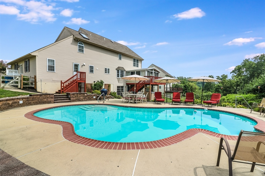 Real Estate Photography - 142 Bromley Dr, Wilmington, DE, 19808 - Beautiful Inground Pool