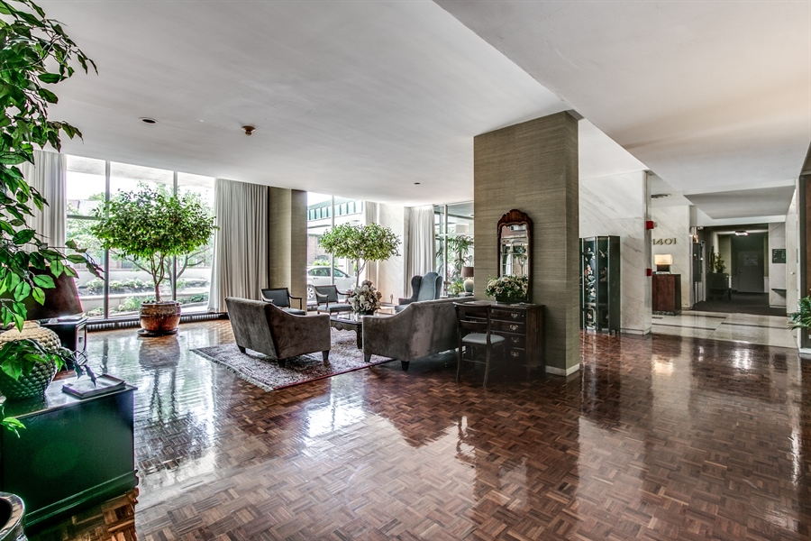 Real Estate Photography - 1401 Pennsylvania Avenue #1512, 1512, Wilmington, DE, 19806-4117 - Another Lobby View