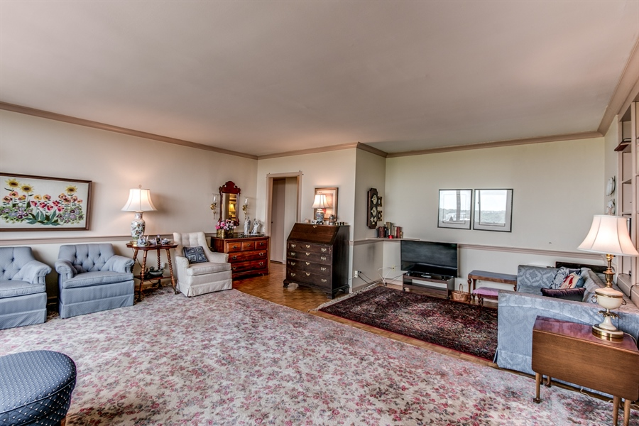 Real Estate Photography - 1401 Pennsylvania Avenue #1512, 1512, Wilmington, DE, 19806-4117 - One More View Of The Living Room