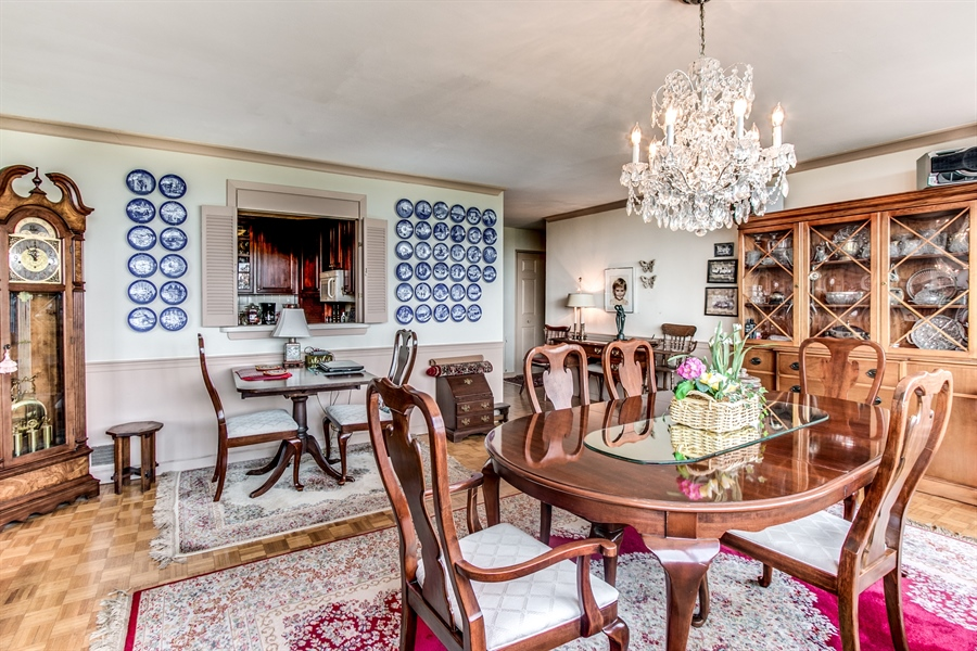 Real Estate Photography - 1401 Pennsylvania Avenue #1512, 1512, Wilmington, DE, 19806-4117 - Another View Of The Dining Room