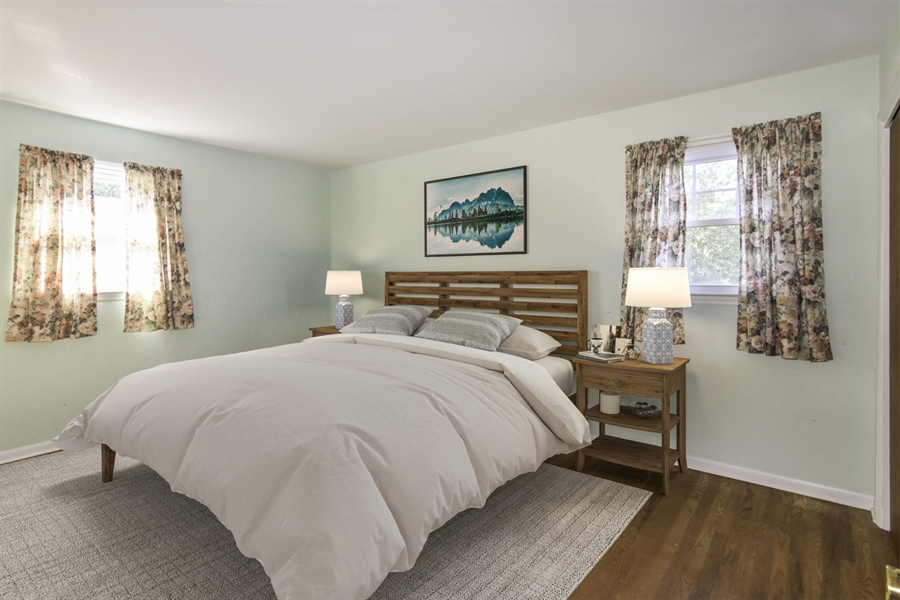 Real Estate Photography - 2806 Fawkes Dr, Wilmington, DE, 19808 - Master Bedroom