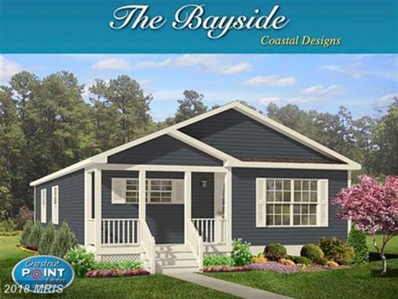 Real Estate Photography - Lot 35 White Oak Drive, Perryville, DE, 21903 - Bayside Front