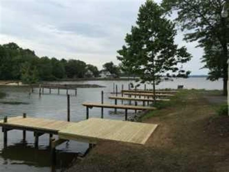 Real Estate Photography - Lot 35 White Oak Drive, Perryville, DE, 21903 - Community Dock