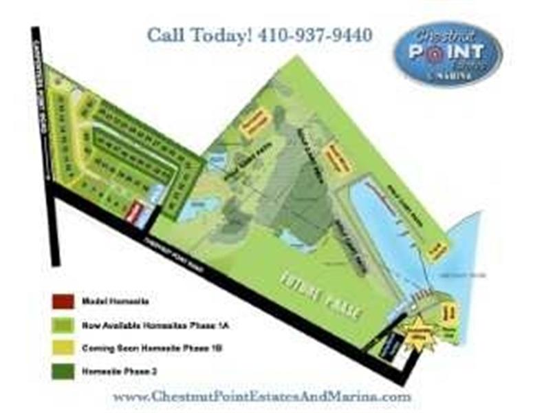 Real Estate Photography - Lot 35 White Oak Drive, Perryville, DE, 21903 - Community Map