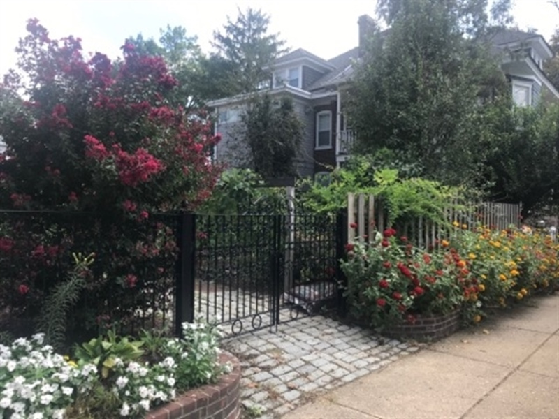 Real Estate Photography - 2101 N Grant Ave, Wilmington, DE, 19806 - A beautiful garden oasis in the city