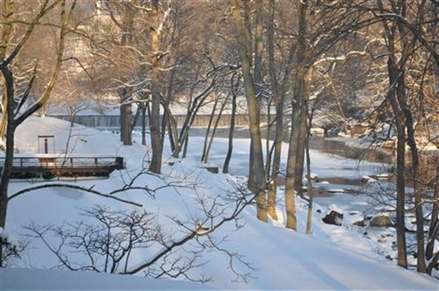 Real Estate Photography - 7 Brandywine Falls Rd, Wilmington, DE, 19806 - Breakfast Area overlooking river
