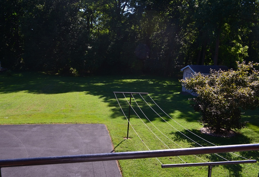 Real Estate Photography - 103 Admiral Dr, Wilmington, DE, 19804 - View of Yard from Kitchen
