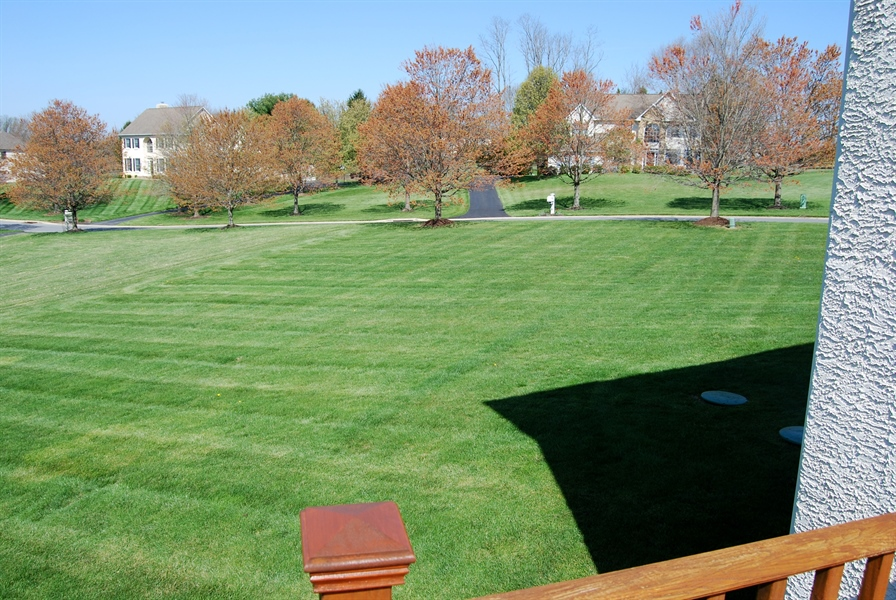 Real Estate Photography - 117 Cavender Ln, Landenberg, PA, 19350 - Priceless Views from Rear Deck