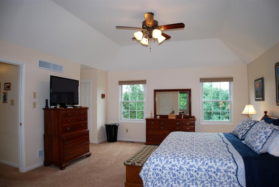 Real Estate Photography - 117 Cavender Ln, Landenberg, PA, 19350 - Master Bedroom w/ Tray Ceiling