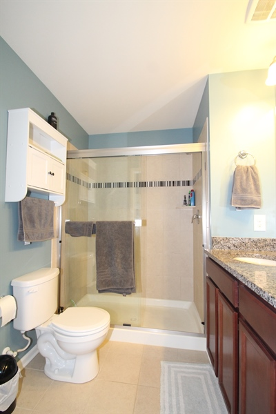 Real Estate Photography - 960 Lissicasey Loop, Middletown, DE, 19709 - Master Bathroom
