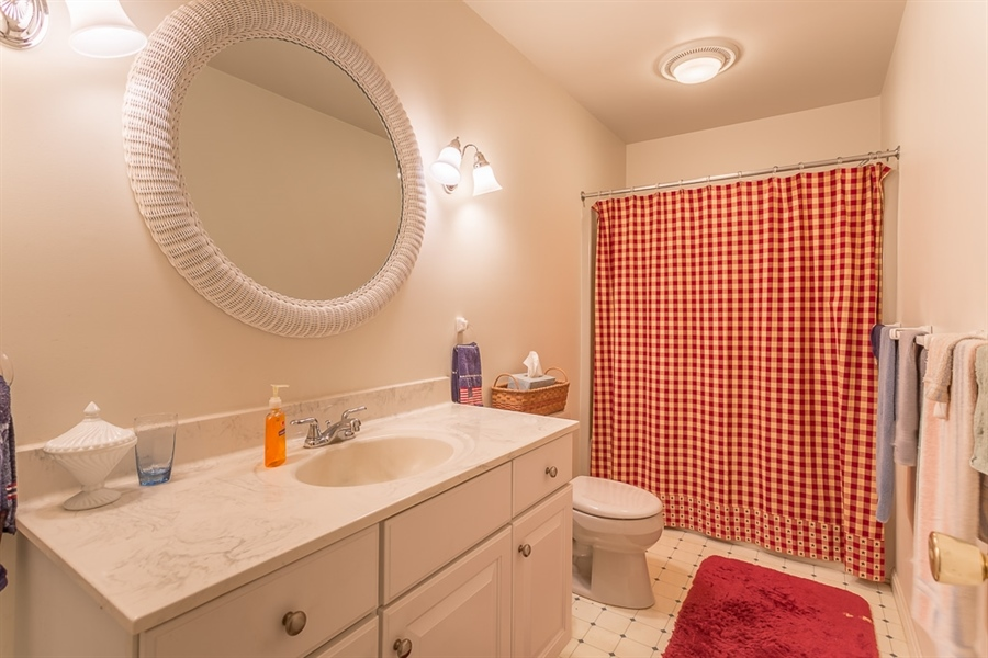 Real Estate Photography - 316 Pond Rd, Millsboro, DE, 19966 - Guest bathroom