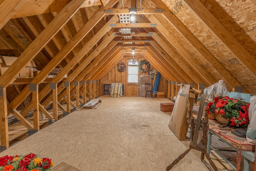 Real Estate Photography - 316 Pond Rd, Millsboro, DE, 19966 - Additional attic/storage space.