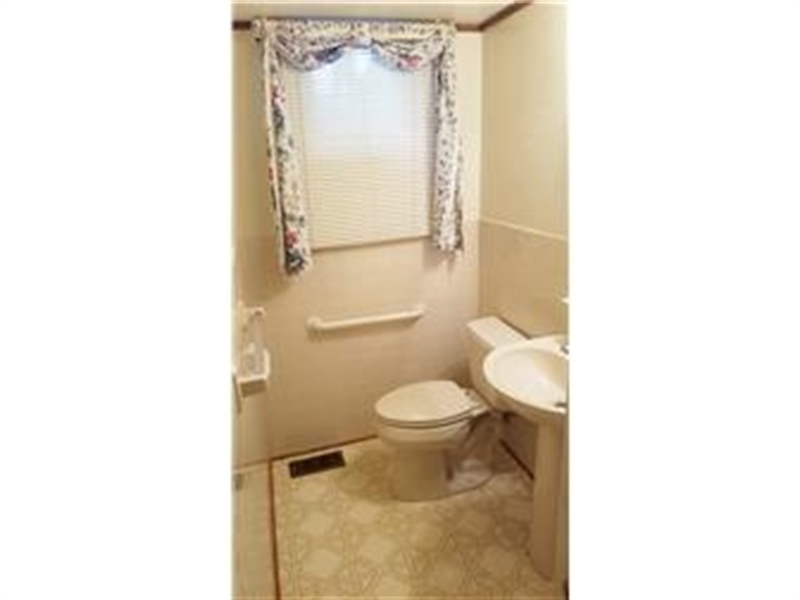 Real Estate Photography - 4012 Greenmount Dr, Wilmington, DE, 19810 - Updated powder room!