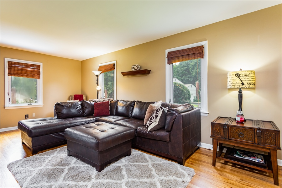 Real Estate Photography - 2214 Inwood Rd, Wilmington, DE, 19810 - spacious light filled living room