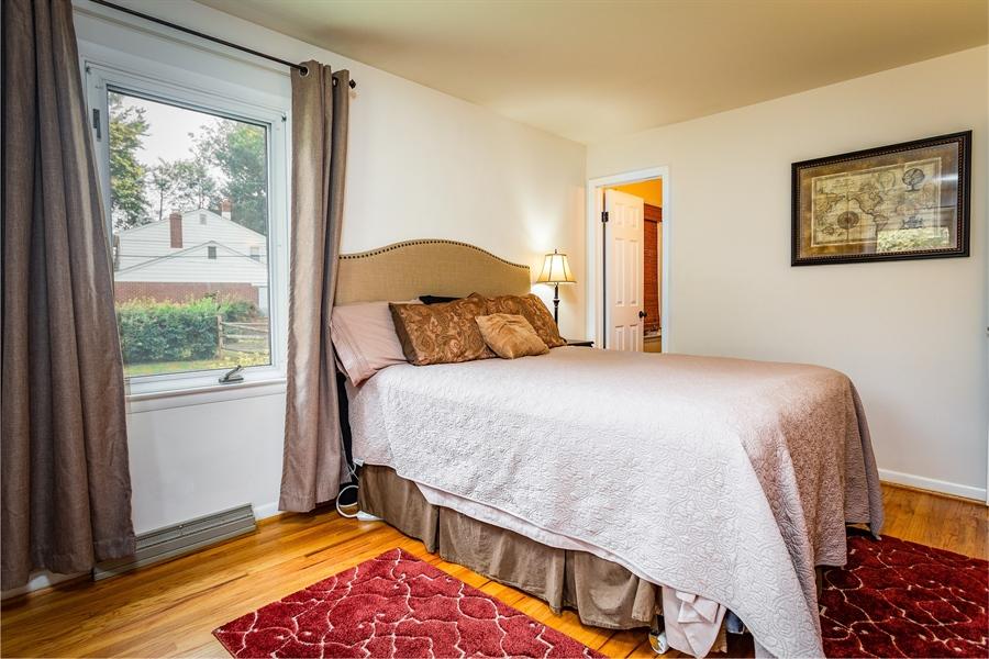 Real Estate Photography - 2214 Inwood Rd, Wilmington, DE, 19810 - hardwoods throughout bedrooms