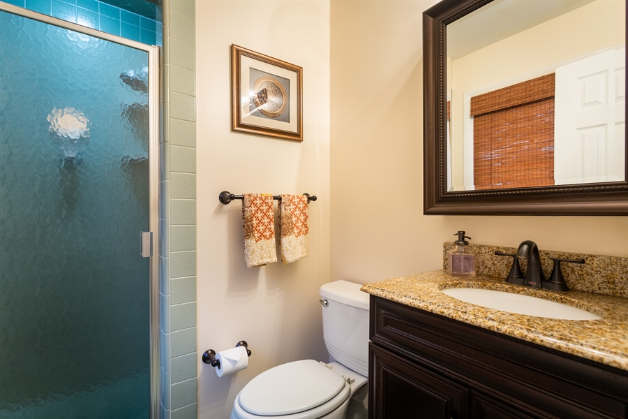 Real Estate Photography - 2214 Inwood Rd, Wilmington, DE, 19810 - master bath with stall shower