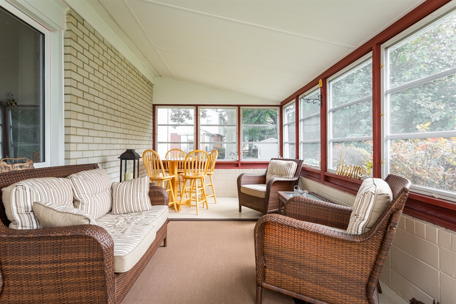 Real Estate Photography - 2214 Inwood Rd, Wilmington, DE, 19810 - enjoy the 3 season room this Fall