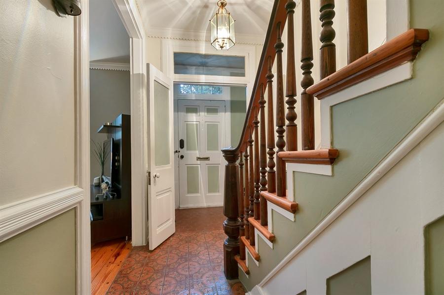 Real Estate Photography - 1003 Trenton Pl, Wilmington, DE, 19801 - Crown Moldings, Exquisite Bannisters
