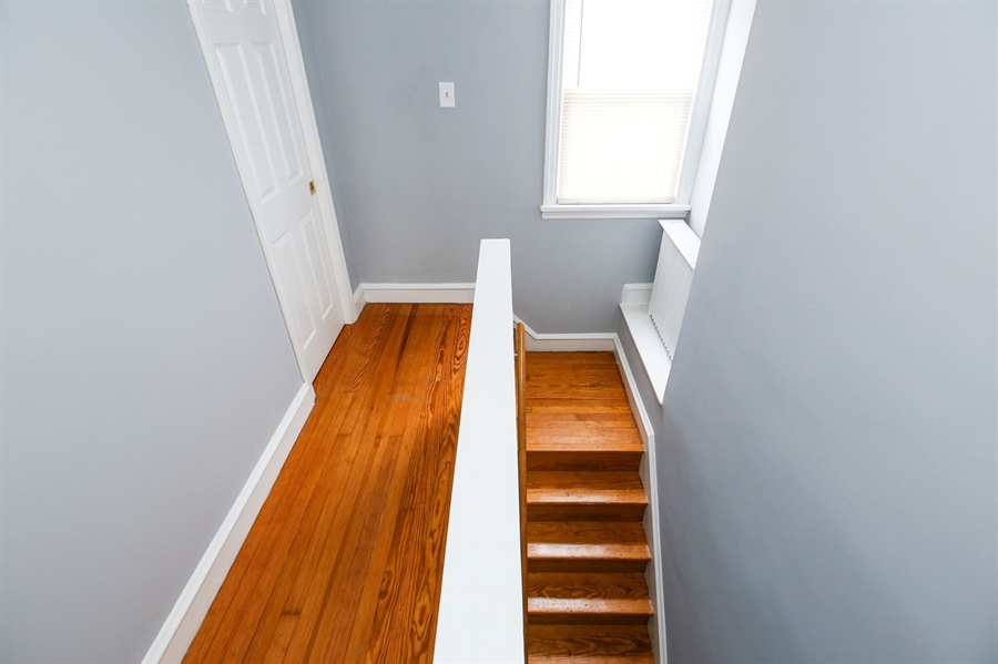 Real Estate Photography - 302 Birmingham Ave, Wilmington, DE, 19804 - Staircase/hallway